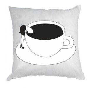 Pillow Drown in coffee - PrintSalon