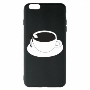 Phone case for iPhone 6 Plus/6S Plus Drown in coffee - PrintSalon