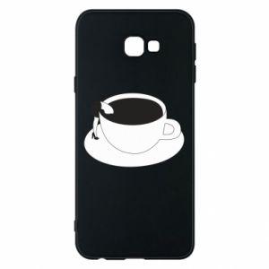 Phone case for Samsung J4 Plus 2018 Drown in coffee - PrintSalon