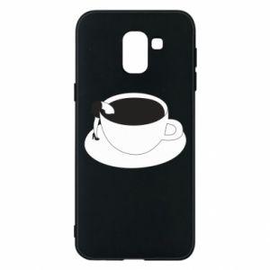 Phone case for Samsung J6 Drown in coffee - PrintSalon