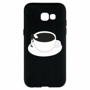 Phone case for Samsung A5 2017 Drown in coffee - PrintSalon