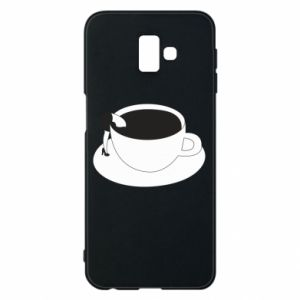 Phone case for Samsung J6 Plus 2018 Drown in coffee - PrintSalon
