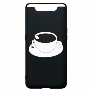 Phone case for Samsung A80 Drown in coffee - PrintSalon