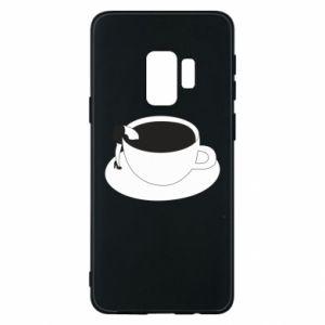 Phone case for Samsung S9 Drown in coffee - PrintSalon