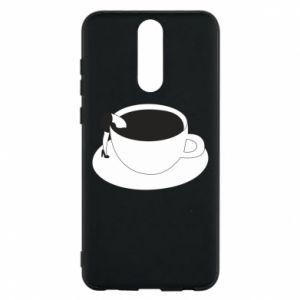Phone case for Huawei Mate 10 Lite Drown in coffee - PrintSalon