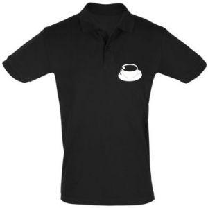 Men's Polo shirt Drown in coffee - PrintSalon