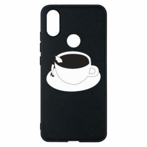 Phone case for Xiaomi Mi A2 Drown in coffee - PrintSalon