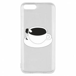 Phone case for Xiaomi Mi6 Drown in coffee - PrintSalon