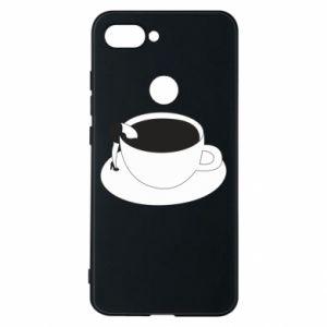 Phone case for Xiaomi Mi8 Lite Drown in coffee - PrintSalon