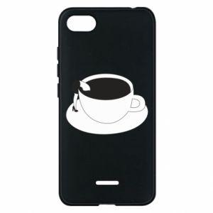Phone case for Xiaomi Redmi 6A Drown in coffee - PrintSalon