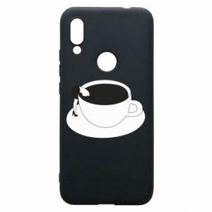 Phone case for Xiaomi Redmi 7 Drown in coffee - PrintSalon