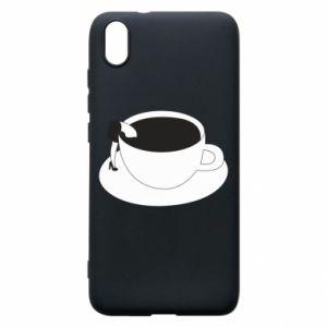 Phone case for Xiaomi Redmi 7A Drown in coffee - PrintSalon