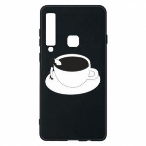 Phone case for Samsung A9 2018 Drown in coffee - PrintSalon