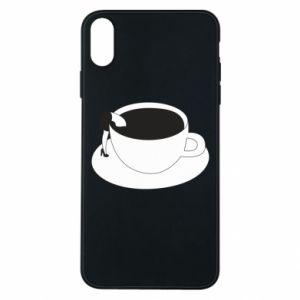 Etui na iPhone Xs Max Drown in coffee