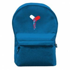 Plecak z przednią kieszenią Drug pill