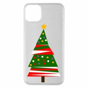 iPhone 11 Pro Max Case New Year tree decorated