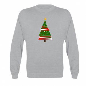Bluza dziecięca Drzewo noworoczne ozdobione