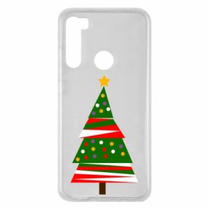 Xiaomi Redmi Note 8 Case New Year tree decorated