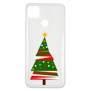 Xiaomi Redmi 9c Case New Year tree decorated