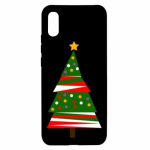 Xiaomi Redmi 9a Case New Year tree decorated
