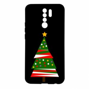 Xiaomi Redmi 9 Case New Year tree decorated