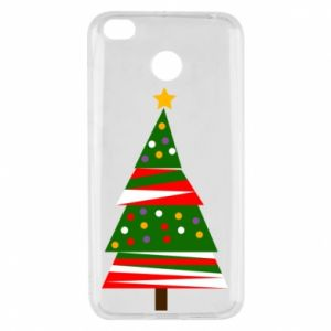 Xiaomi Redmi 4X Case New Year tree decorated