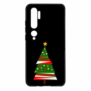 Xiaomi Mi Note 10 Case New Year tree decorated