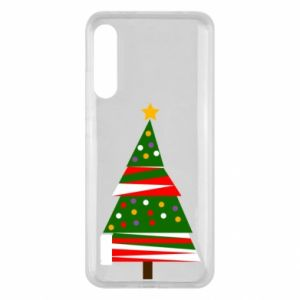 Xiaomi Mi A3 Case New Year tree decorated