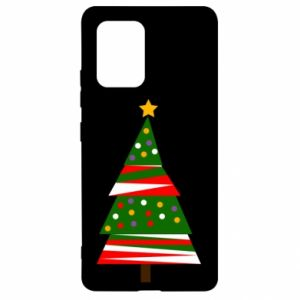 Samsung S10 Lite Case New Year tree decorated