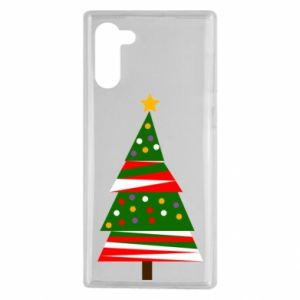Samsung Note 10 Case New Year tree decorated