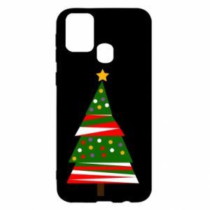 Samsung M31 Case New Year tree decorated