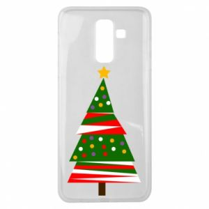 Samsung J8 2018 Case New Year tree decorated