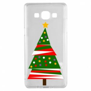 Samsung A5 2015 Case New Year tree decorated