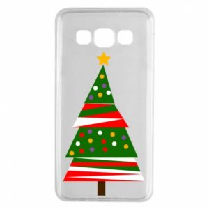 Samsung A3 2015 Case New Year tree decorated