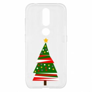 Nokia 4.2 Case New Year tree decorated