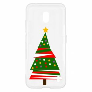 Nokia 2.2 Case New Year tree decorated