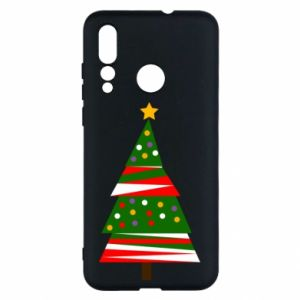 Huawei Nova 4 Case New Year tree decorated