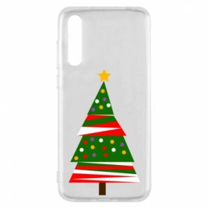 Huawei P20 Pro Case New Year tree decorated