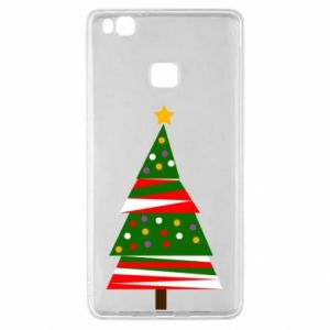 Huawei P9 Lite Case New Year tree decorated