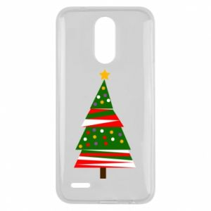 Lg K10 2017 Case New Year tree decorated