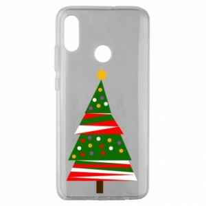 Huawei Honor 10 Lite Case New Year tree decorated