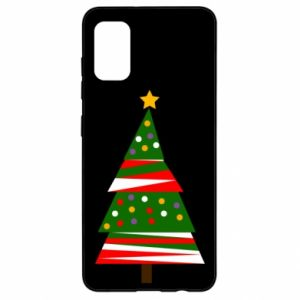 Samsung A41 Case New Year tree decorated