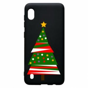Samsung A10 Case New Year tree decorated