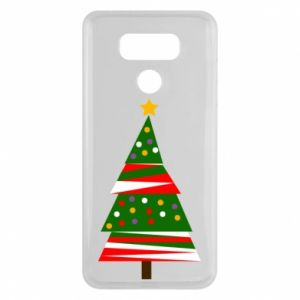 LG G6 Case New Year tree decorated