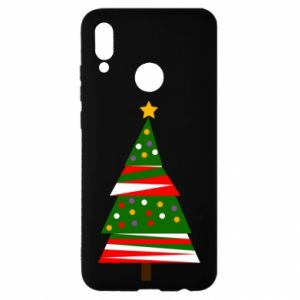 Huawei P Smart 2019 Case New Year tree decorated