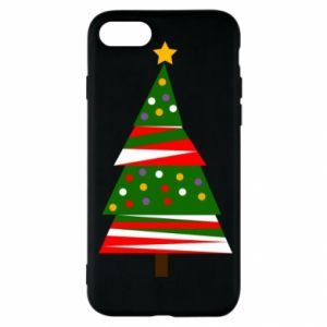 iPhone SE 2020 Case New Year tree decorated