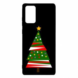 Etui na Samsung Note 20 Drzewo noworoczne ozdobione