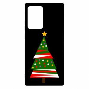 Etui na Samsung Note 20 Ultra Drzewo noworoczne ozdobione