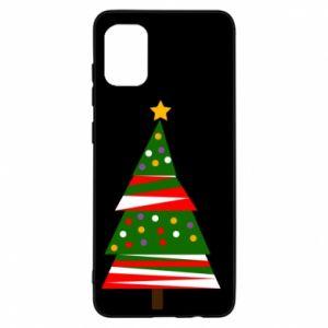 Etui na Samsung A31 Drzewo noworoczne ozdobione