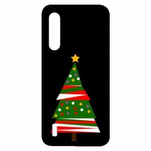 Etui na Xiaomi Mi9 Lite Drzewo noworoczne ozdobione